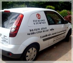 TJ Clearance - Marlow - Property Cleaning Van